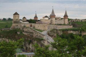 Ukraina - zamek w Kamieńcu Podolskim