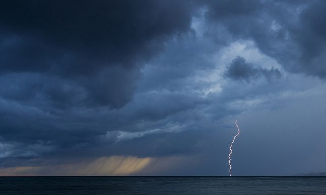 bezpieczne wakacje - w czasie burzy