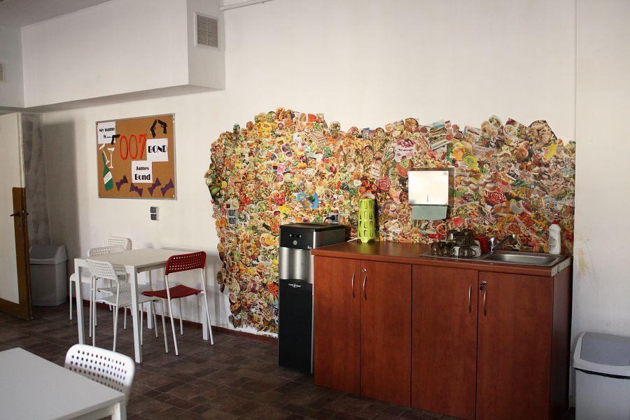 """W """"sali bez drzwi"""" uczniowie sami zrobili kolaż promujący zdrowe odżywianie"""