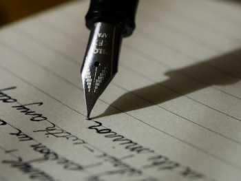 ręczne pisanie