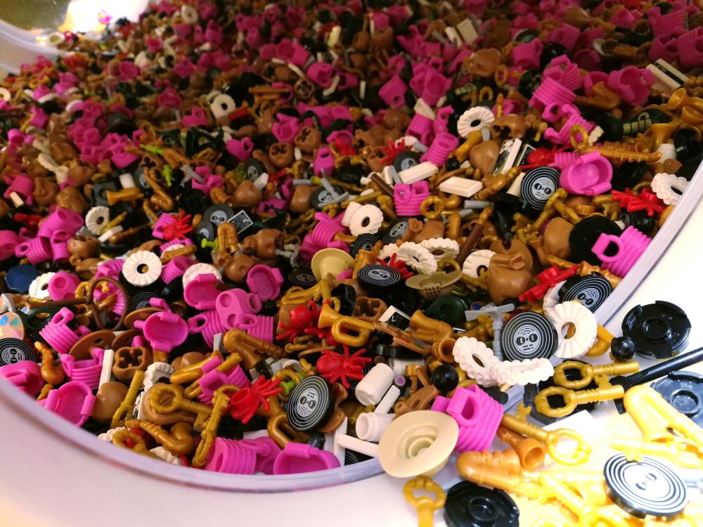 Figurki Lego - akcesoria