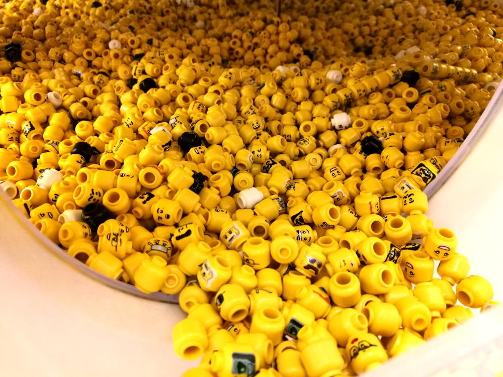 Figurki Lego - głowy
