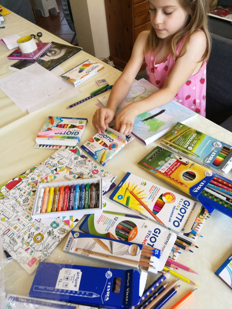 kredki i ołówki